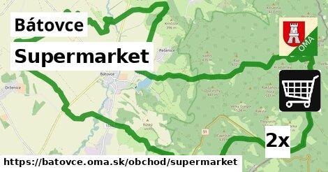 supermarket v Bátovce