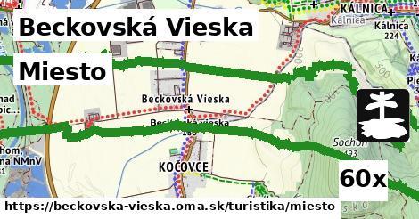 miesto v Beckovská Vieska