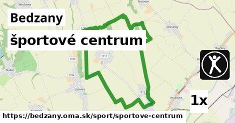 športové centrum v Bedzany