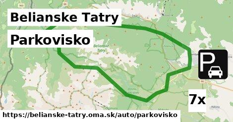 ilustračný obrázok k Parkovisko, Belianske Tatry