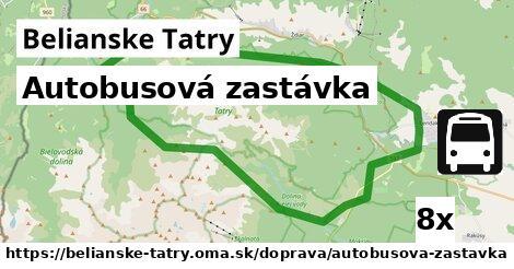 ilustračný obrázok k Autobusová zastávka, Belianske Tatry