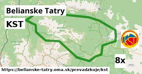 ilustračný obrázok k KST, Belianske Tatry
