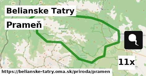 ilustračný obrázok k Prameň, Belianske Tatry