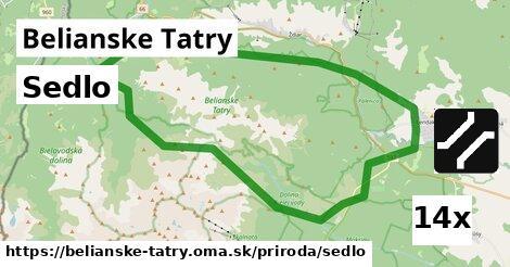 ilustračný obrázok k Sedlo, Belianske Tatry