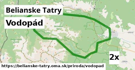 ilustračný obrázok k Vodopád, Belianske Tatry