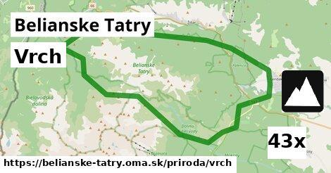 ilustračný obrázok k Vrch, Belianske Tatry