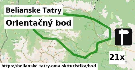 ilustračný obrázok k Orientačný bod, Belianske Tatry