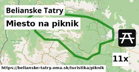 ilustračný obrázok k Miesto na piknik, Belianske Tatry