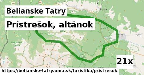 ilustračný obrázok k Prístrešok, altánok, Belianske Tatry