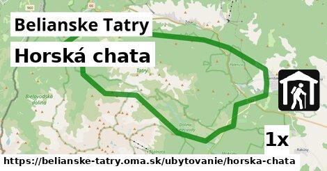ilustračný obrázok k Horská chata, Belianske Tatry