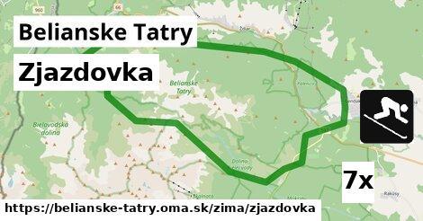 ilustračný obrázok k Zjazdovka, Belianske Tatry