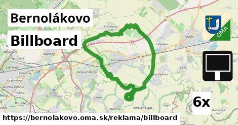 billboard v Bernolákovo