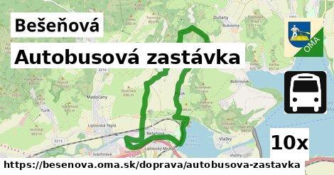 ilustračný obrázok k Autobusová zastávka, Bešeňová