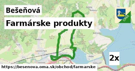 ilustračný obrázok k Farmárske produkty, Bešeňová
