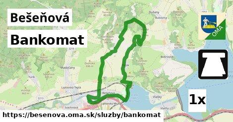 ilustračný obrázok k Bankomat, Bešeňová