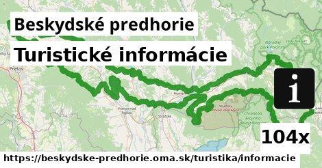 ilustračný obrázok k Turistické informácie, Beskydské predhorie