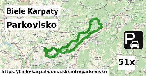 ilustračný obrázok k Parkovisko, Biele Karpaty