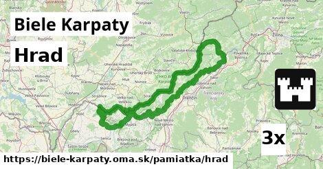 ilustračný obrázok k Hrad, Biele Karpaty