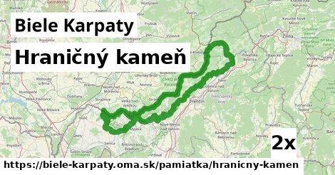 ilustračný obrázok k Hraničný kameň, Biele Karpaty