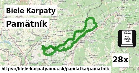 ilustračný obrázok k Pamätník, Biele Karpaty
