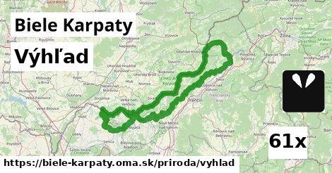výhľad v Biele Karpaty
