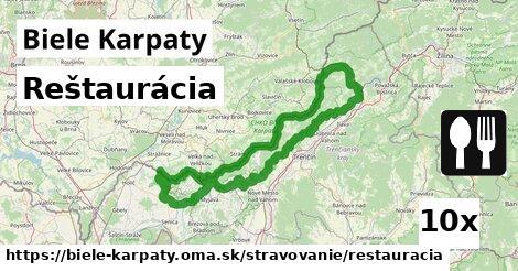 ilustračný obrázok k Reštaurácia, Biele Karpaty
