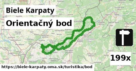 orientačný bod v Biele Karpaty