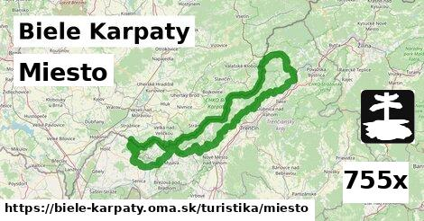 miesto v Biele Karpaty
