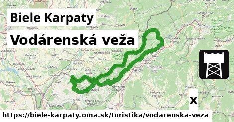 ilustračný obrázok k Vodárenská veža, Biele Karpaty