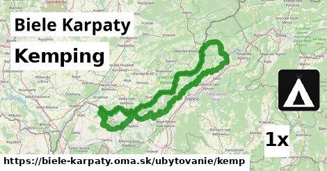 kemping v Biele Karpaty