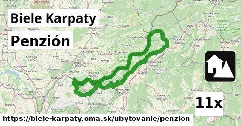 penzión v Biele Karpaty
