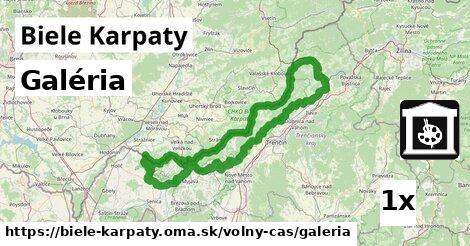 galéria v Biele Karpaty
