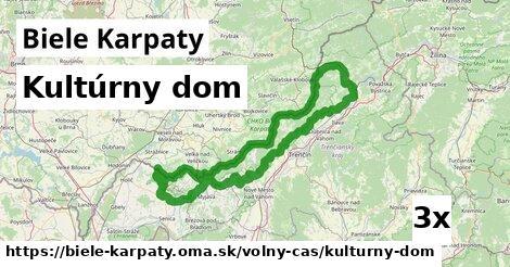kultúrny dom v Biele Karpaty