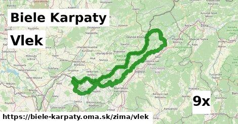 vlek v Biele Karpaty