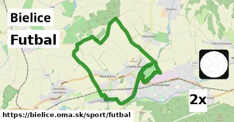 futbal v Bielice