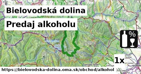 predaj alkoholu v Bielovodská dolina