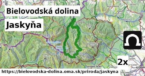 jaskyňa v Bielovodská dolina