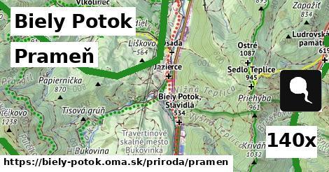 prameň v Biely Potok