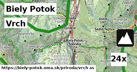 vrch v Biely Potok