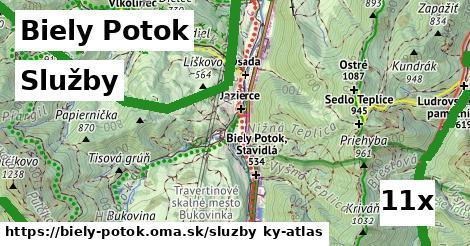 služby v Biely Potok