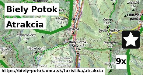atrakcia v Biely Potok