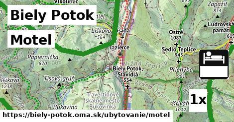 motel v Biely Potok