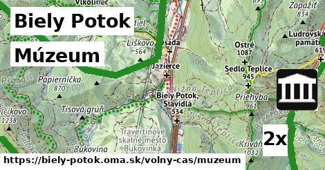 múzeum v Biely Potok