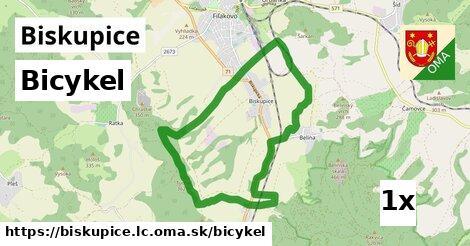 bicykel v Biskupice, okres LC