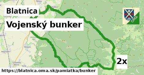vojenský bunker v Blatnica