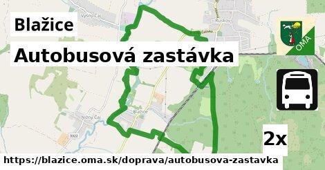 ilustračný obrázok k Autobusová zastávka, Blažice
