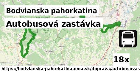 ilustračný obrázok k Autobusová zastávka, Bodvianska pahorkatina