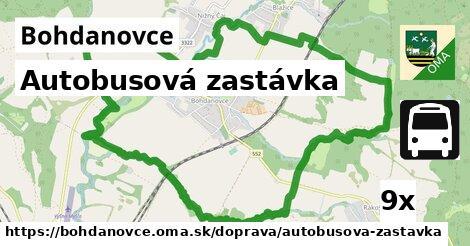 ilustračný obrázok k Autobusová zastávka, Bohdanovce