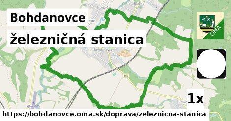 ilustračný obrázok k železničná stanica, Bohdanovce