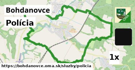 polícia v Bohdanovce